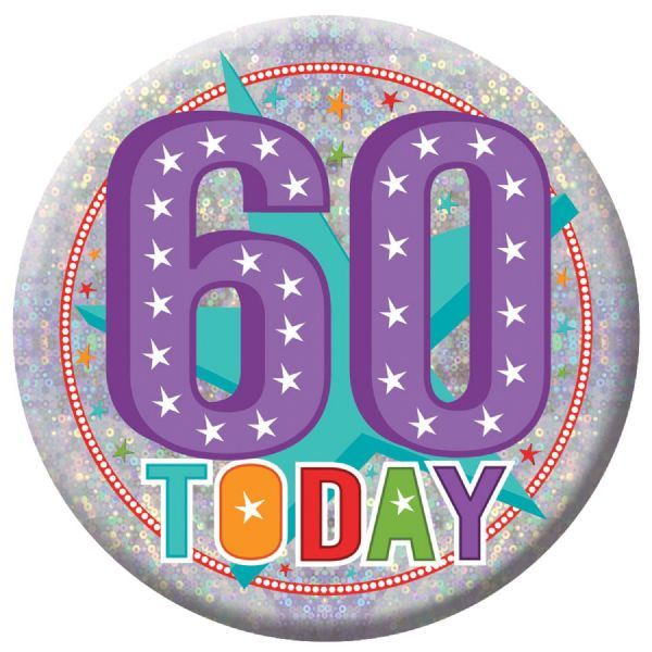 Holographic Badges 60th